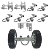 Rolling Gate Hardware Kit - Chain Link Parts