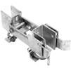 Residential Strong Arm Double Gate Latch - chain link fence parts - chain link gate parts