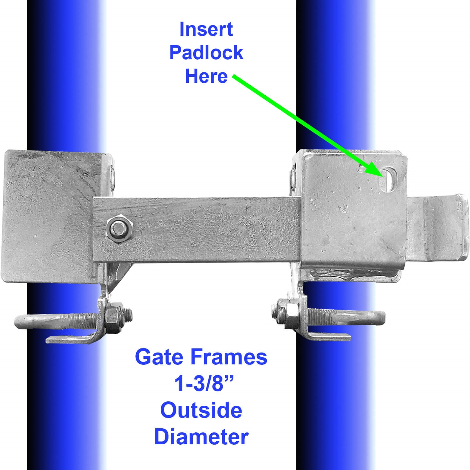 Residential Strong Arm Double Gate Fulcrum Latch