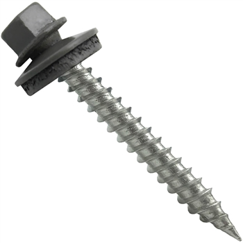 "#9 x 1-1/2"" Stainless Steel Metal Roofing Screws - 250 Quantity"