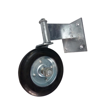 Swivel Wheel Wood Gate Helper Wheel, Gate parts