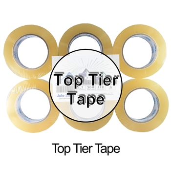 Top Tier Tape - High Quality Shipping/Packaging Tape 2""
