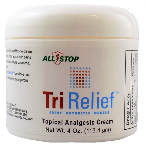 TriRelief Topical Pain Cream - 4 oz