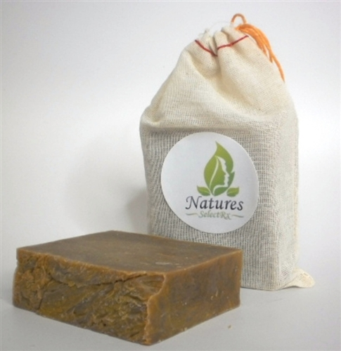 NaturesSelectRx - Blemish Buster - Patchouli Vanilla Hemp All Natural Soap -4.5 oz bar