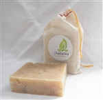 Unscented Oatmel,Goat Milk, & Shea Butter Soap -- For Eczema, Psoriasis, Poison Ivy, Dry Skin