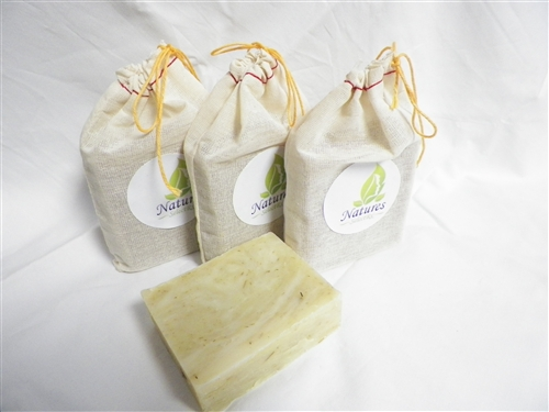 NaturesSelectRx - Relaxed Renewal - Lemongrass All Natural Soap - 4.5 oz bar - 3 pk