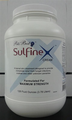 Pet Sulfinex Cream - 128 oz