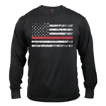 Rothco Thin Red Line Long Sleeve T-shirt
