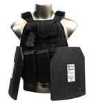 "10""x12"" Level IV Monolithic Ceramic & Polyethylene Body Armor"