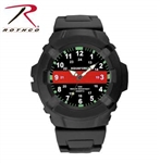 Rothco Aquaforce Thin Red Line Watch