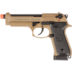 V Tactical VT92D C02 Hybrid Blowback Metal-6 mm TAN