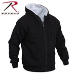 Rothco Heavyweight Sherpa Lined Zippered Sweatshirt