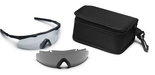 8849ac1b4f70c Smith Optics Elite Aegis Eyeshields Black Frame Clear Lense