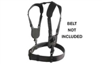 BH ERGONOMIC DUTY BELT HARNESS BLK