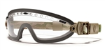 Smith Optics Elite Boogie Sport Clear Multicam Strap/Clear
