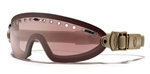 Smith Optics Elite Boogie Sport Clear Tan/Ignitor