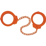 PEERLESS HANDCUFF COMPANY 755C Oversize Leg Iron, ORANGE