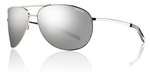 Smith Optics Serpico Silver Frame Polarized Platinum