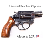 CLIPDRAW Concealed Carry Belt Clip for Revolvers