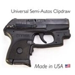 CLIPDRAW Concealed Carry Belt Clip for Semi-Autos