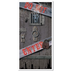 Haunted Halloween Door Cover