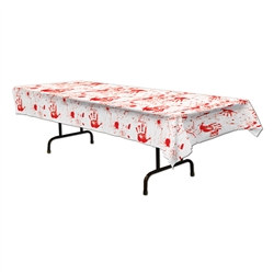 Bloody Handprints Tablecover
