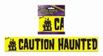 Caution Haunted Party Tape