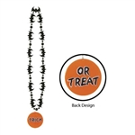 Bat Beads with Trick or Treat Medallion (1/pkg)