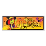 Happy Halloween Sign Banner