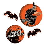 Whether large or small, these classic Vintage Halloween Cutouts will help you set a vintage feel for your Halloween celebration!  Sold four cutouts per package, these colorful classic designs are printed on high quality card stock.  Reusable with care.