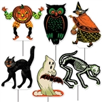 All Weather Vintage Halloween Yard Signs