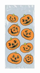 Pumpkin Party Bags (25/Pkg)