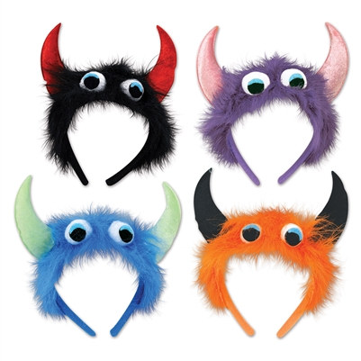 Monster Headbands (Sold Individually) (Assorted Designs)