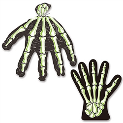 Skeleton Hand Treat Bags (10/Pkg)