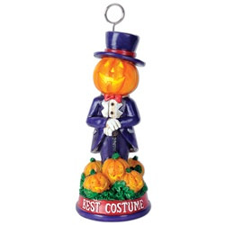 Best Costume Halloween Trophy Photo/Balloon Holder