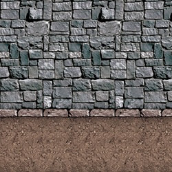 Planning a dungeon themed party or hosting a dungeon themed RPG?  This Dirt Floor Backdrop helps set the perfect mood.