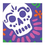 Whether your hosting a Day of the Dead theme birthday party, zombie theme party or Halloween party these Day Of The Dead Luncheon Napkins will create a spooky dinner setting.