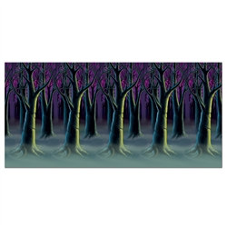 The Spooky Forest Trees Backdrop is a high quality scene setting background perfect for Halloween or anytime you want to set an 'Into the Woods' ambiance.
