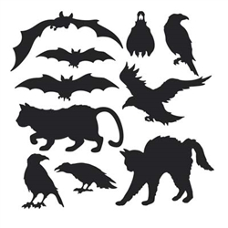 Halloween Silhouettes