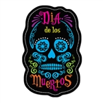 "If you love day of The Dead celebrations, thenit's time to BIG with these Day Of The Dead Sign Cutouts!  Each package includes two cut-outs, one in Spanish and one in English.  Both  34"" tall by 22"" wide cutouts printed both sides"