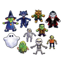 Halloween Cutouts (10 Cutouts Per Package)