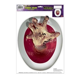 Hand Toilet Topper Peel N Place (1/sheet)