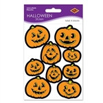 Jack-O-Lantern Stickers (4 sheets/pkg)