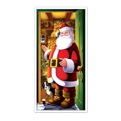 Santa Door Cover  sc 1 st  Party Cheap & Santa Door Cover - PartyCheap