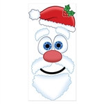 Santa Face Door Decor