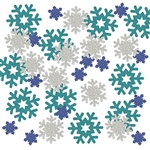 Let it snow on your winter themed party table!  Your guests will love the sparkle and color this deluxe Snowflake Sparkle Confetti adds to your decor.  Your party will be Instagram ready in an instant!  Great for scrap booking, memory books and crafts.