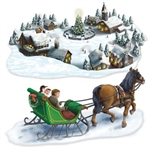 Holiday Village and Sleigh Ride Props