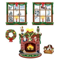 Indoor Christmas Decor Props (5/pkg)