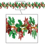Poinsettia Garland
