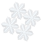 Sparkle Snowflakes 6 in (4/Pkg)